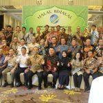 Foto bersama Pengurus DPW ALFI/ILFA Jateng & DIY pada acara Halal Bihalal